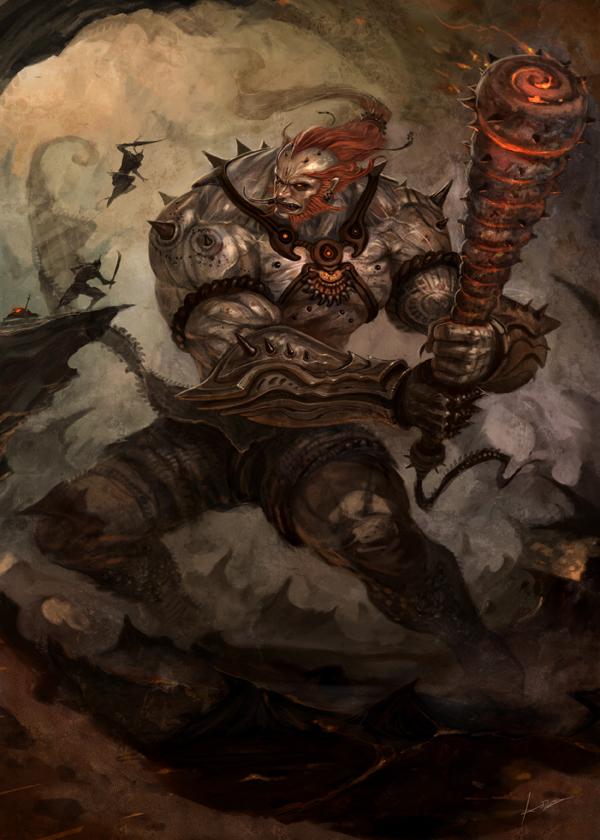 Bone Warrior Concept Art