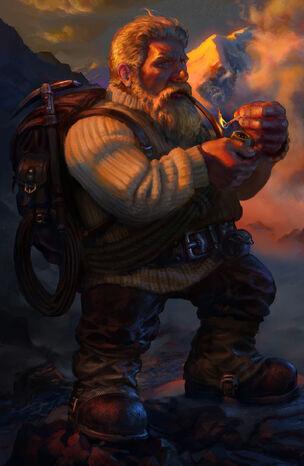 Dwarf Mountaineer