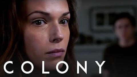 Colony Amanda Righetti - Behind the Scenes Interview