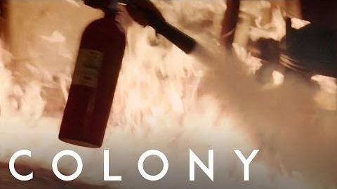 Colony 'Up In Flames'