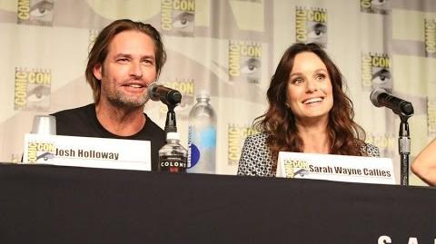 Josh Holloway and Sarah Wayne Callies - Colony (USA) Interview