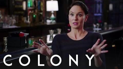 Colony Sarah Wayne Callies - Behind the Scenes Interview