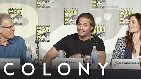 Colony San Diego Comic-Con Panel Highlights