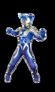 Blue Ultraman Zero Luna Miracle