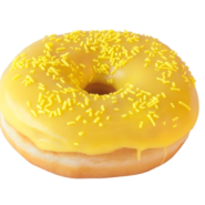 Yellow Doughnut