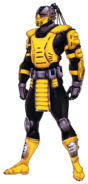 Yellow Cyrax