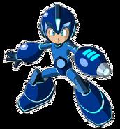 Blue Mega Man