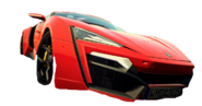 Red Lykan Hypersport