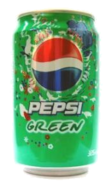 Green Pepsi Flavor