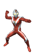 Red Ultraman Dyna Strong Type