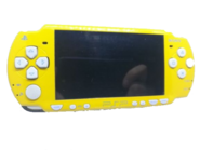 Yellow PSP Console