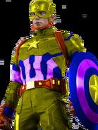 Yellow Captain America