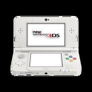 White New Nintendo 3DS Console