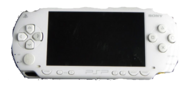 White PSP Console