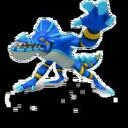 Blue Crazygator
