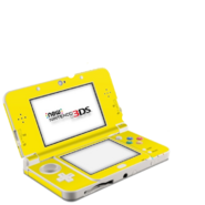 Yellow New Nintendo 3DS XL Console