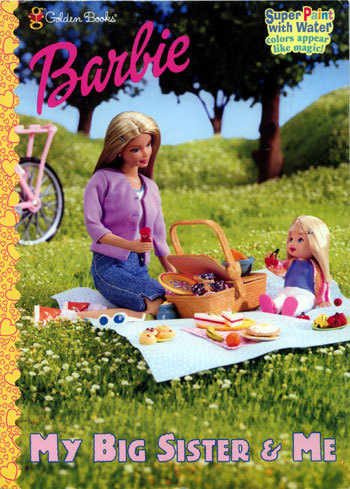Barbie My Big Sister Me Coloring Book