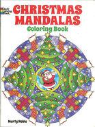 2013 Christmas Mandalas Coloring Book by Marty Noble