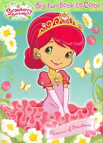 strawberry shortcake coloring bookjpg - Strawberry Shortcake Coloring Book