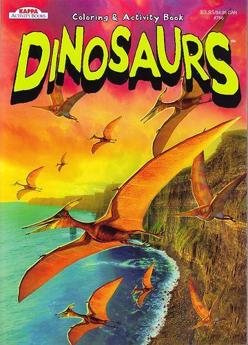 Kappa Dinosaurs Coloring Activity Book 2