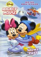 Mickey Mouse Snow Days Coloring Book