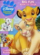 Disney Animal Friends-Cuddle Buddy Coloring Book