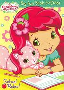 Strawberry Shortcake - School Rules! Coloring Book