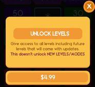 Unlock levels