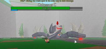 Roblox Colossus Legends Codes Colossus Colossus Legends Wiki Fandom