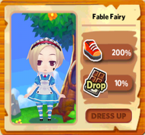 Fable Fairy Costume for Female