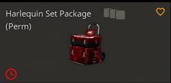 Harlequinsetpackage