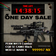 M419 Combat CQB SE CAMO Black MOD LE MARK II One Day Sale