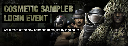 Cosmetic Sampler Event
