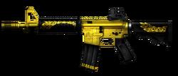 M4A1 CQBR Gold