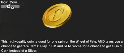 Gold Coin Item