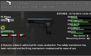 Tt pistol for perm