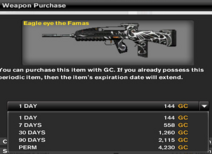 Eagle Eye The FAMAS Prices