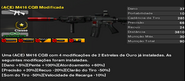 Loaded (ACE) M416 CQB