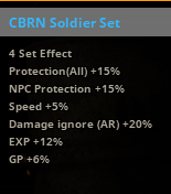 CBRN Soldier Set Bonus