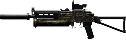 PP-19 MOD CAMO High Resolution