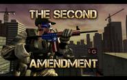 Second Amendment+Patriot Cap+Patriot Skull Mask