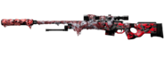 L1153 Ghillie Core Red Camo Reboot