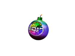 2017 New Year's Bomb render
