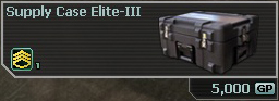 Supply Case Elite-III