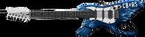 Cold Thunder Guitar Gun Render