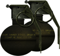 M67 Splittergranatenpaket Render