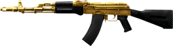 AK-74M Gold-Plated High Resolution