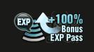 Bonus EXP Pass (100%)