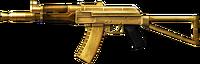 AK-74U Gold-Plated High Resolution