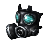 Reinforced Chemical Gas Mask